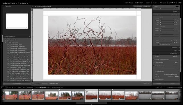 LightroomCoach - Bilder bearbeiten mit Lightroom - Druckmodul